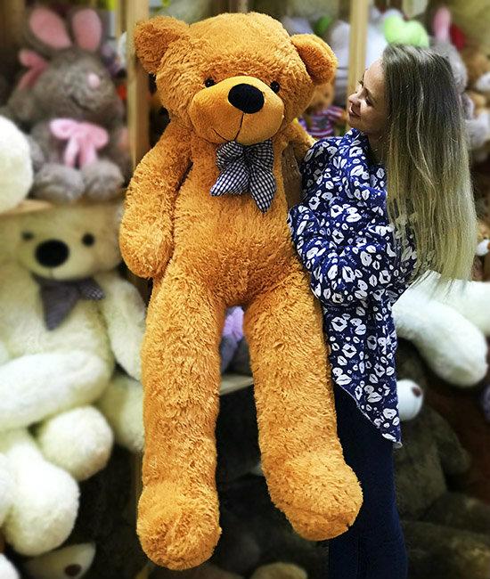 Медведь бежевый 1.4 метра